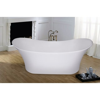 Aquatica PureScape 701M Freestanding AquaStone Bathtub