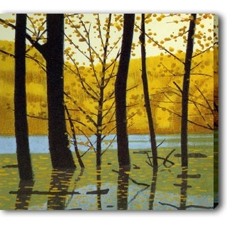 'The Fall Leaves' Canvas Print Art