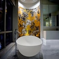 Aquatica PureScape Ovatus-ALL WHITE Freestanding AquaStone Bathtub