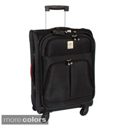 Jenni Chan 'Shanghai' 21-inch Carry-on Upright Spinner Suitcase
