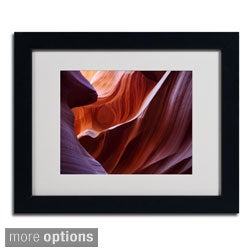 Pierre Leclerc 'Antelope Canyon' Framed Matted Art