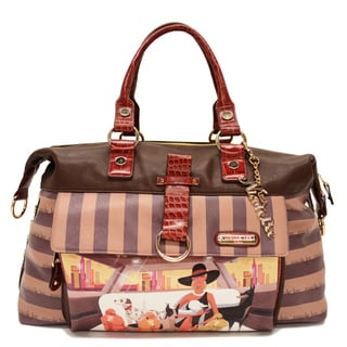 Nicole Lee Lauren Fashion Carry On Duffel Bag