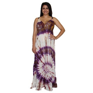 Long Tie Dye Maxi Dress (Nepal)