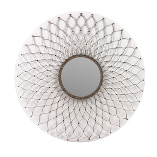 Urban Trends Collection Weathered Metal Mirror