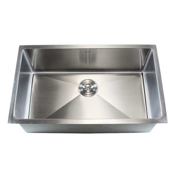 Undermount Stainless Steel Sink Single Bowl : Stainless Steel Undermount Single Bowl 15mm Kitchen Sink - 15558743 ...