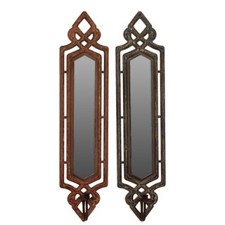 Urban Trends Collection Wooden Mirrors (Set of 2)