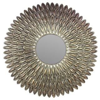 Urban Trends Collection Antique Gold Finish Metal Mirror
