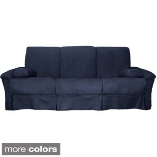 Taylor Perfect Sit & Sleep Transitional Pocketed Coil Pillow Top Full or Queen Futon Sofa Sleeper Bed