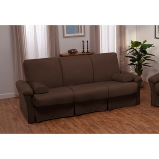 Taylor Perfect Sit & Sleep Transitional Pocketed Coil Pillow Top Full or Queen-size Futon Sofa Sleeper Bed