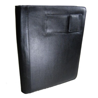 Castello Black Leather Notebook Portfolio