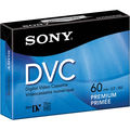 Sony 60 Minute Digital Video Cassette Premium MiniDV Tape