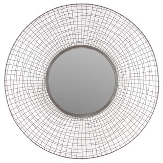 Urban Trends Collection Round Metal Mirror