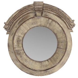 Urban Trends Collection Wooden Wall Mirror