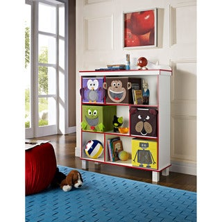 Altra 'Benny' 3-Shelf (5 Bins) Bookcase