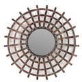 Urban Trends Collection Round Metal Wall Decor Mirror