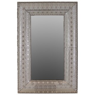 Urban Trends Collection Rectangular Metal Mirror