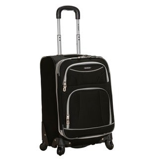 Rockland Fusion 20-inch Expandable Carry-on Spinner Upright Luggage