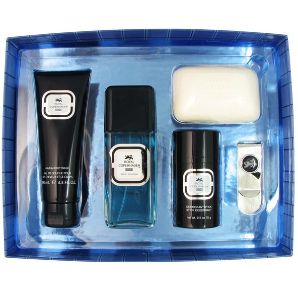 Royal Copenhagen 5-piece Fragrance and Accessory Set