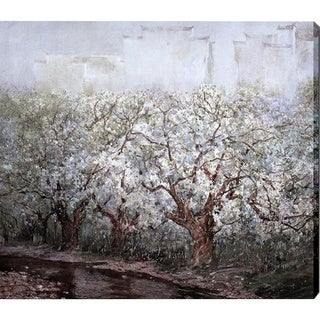 'Snow on Trees' Giclee Print Canvas Art