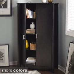 Bush Furniture Aero 2-door Tall Storage Cabinet