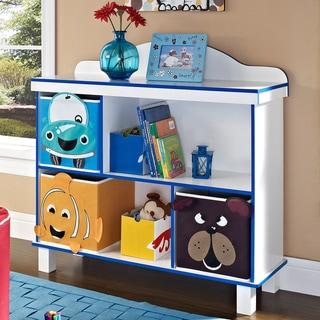 Altra Benny 2-Shelf Bookcase with 3 Bins