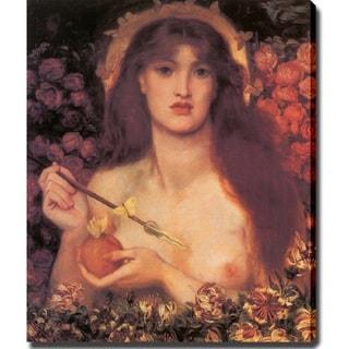 Dante Gabriel Rossetti 'Venus Verticordia' Canvas Art