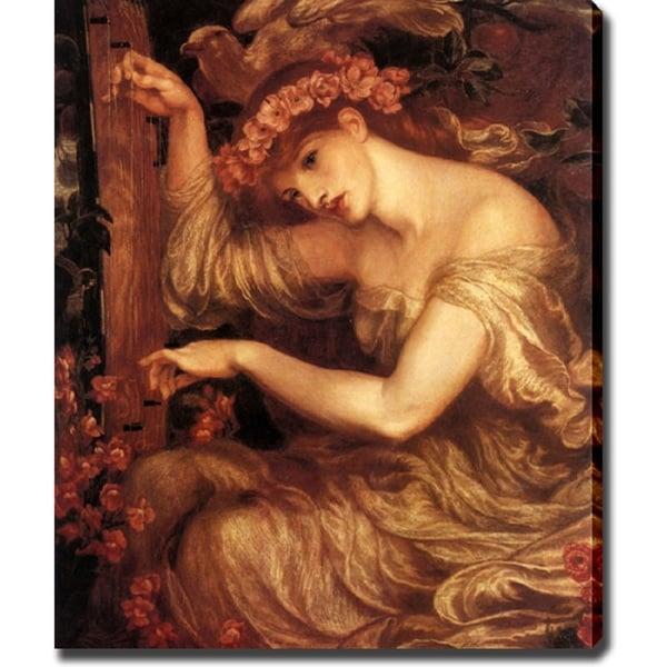 Dante Gabriel Rossetti 'A Sea Spell' Canvas Art