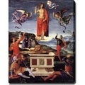 Raffaello Sanzio 'Resurrection' Canvas Art