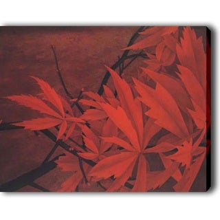 'Red Leaves' Canvas Print Art