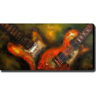 'Guitar' Canvas Art