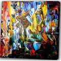 Abstract 'Dance' Giclee Canvas Print Art