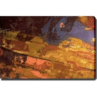 Abstract 'Autumn Night' Giclee Canvas Art