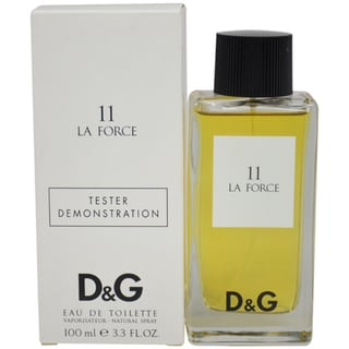 D&G La Force 11 Unisex 3.3-ounce Eau de Toilette Spray (Tester)