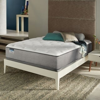 Simmons BeautySleep Stapleton Plush Queen-size Mattress Set