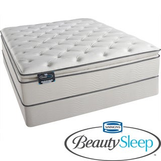 Simmons BeautySleep Titus Pillow Top King-size Mattress Set