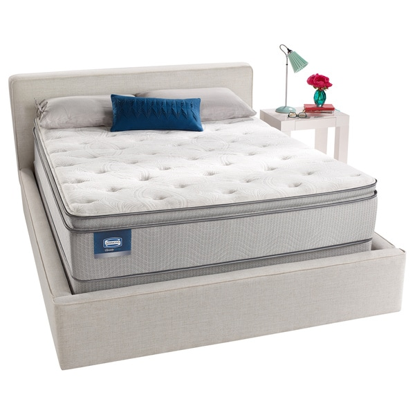 Simmons BeautySleep Titus Pillow Top King-size Mattress Set