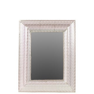 Urban Trends Collection Metal Rectangle Mirror