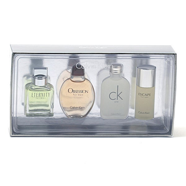 Calvin Klein Coffret CK One Escape Obsession Eternity Men's 4-piece Gift Set