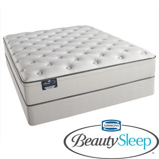 Simmons BeautySleep Kenosha Plush Queen-size Mattress Set