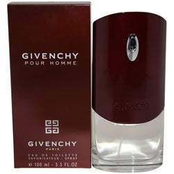 Givenchy Pour Homme Men's 3.4-ounce Eau de Toilette Spray