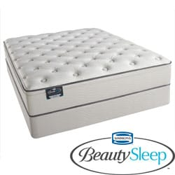 Simmons BeautySleep Kenosha Plush California King-size Mattress Set