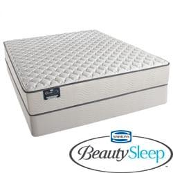 Simmons BeautySleep Kenosha Firm California King-size Mattress Set