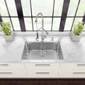 Vigo All-in-One 30-inch Undermount Kitchen Sink and Faucet Set