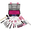 Apollo 170 Piece Tool with Pink Tool Box