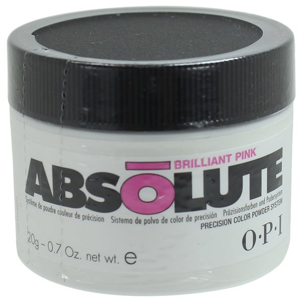 OPI Absolute Acrylic Powder Brilliant Pink