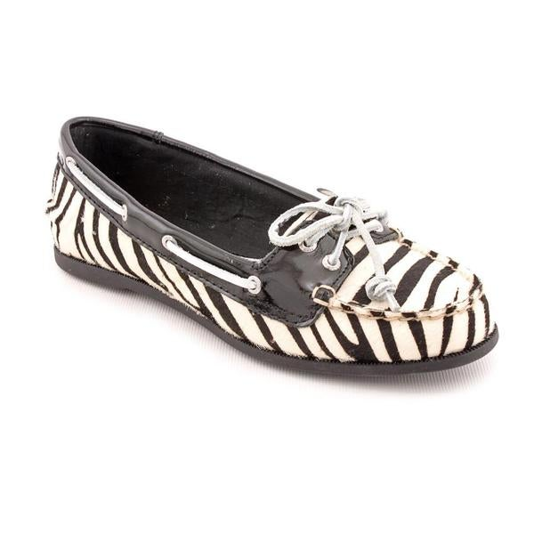 Sperry Top Sider Women's Black 'Audrey' Hair Calf Casual Shoes