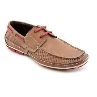 Kenneth Cole Reaction Men's 'Traffic Jam' Brown Leather Casual Shoes