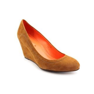 Via Spiga Women's 'Amelia' Regular Suede Platform Dress Shoes