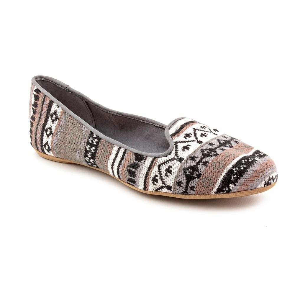 Splendid Women's Gray 'Cannes' Geometric-Pattern Fabric Casual Shoes