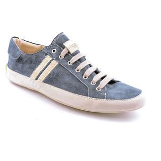 Emma Hope's Shoes Men's 'Slim' Blue Regular Suede Athletic Shoe